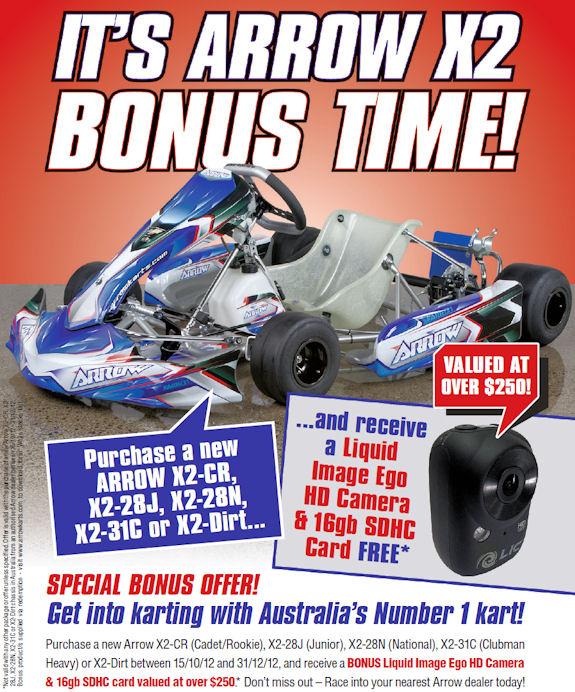Melbourne Kart Centre - Arrow Karts