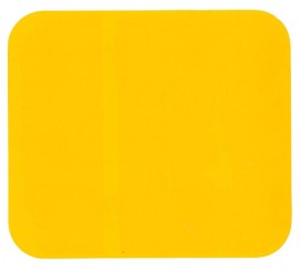 Number Plate Side Pod Yellow Sticker 170 x 195mm