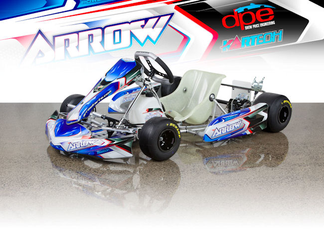 Chrome Moly Tubing >> Arrow Karts X2-28 Junior